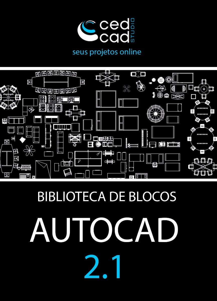 biblioteca de blocos autocad