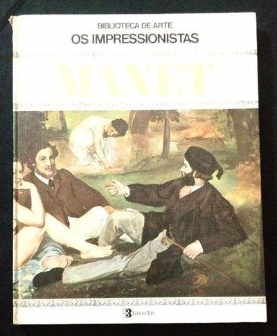 biblioteca de arte - os impressionistas: manet