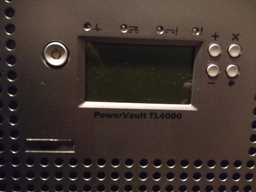 biblioteca de cintas dell power vault tl4000