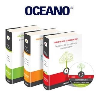 biblioteca de la comunicación 3 vols océano