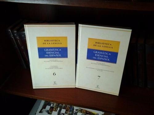 biblioteca de la lengua gramática esencial del español