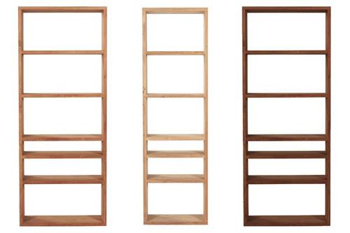 biblioteca de madera   diseño   moderna   minimalista