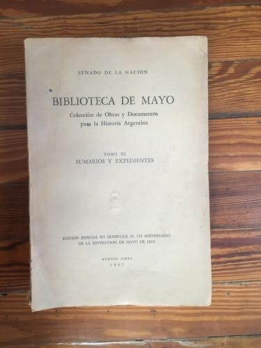 biblioteca de mayo - obra completa (17 tomos en 20 vols)