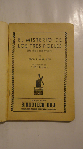 biblioteca de oro - el misterio de los tres robles