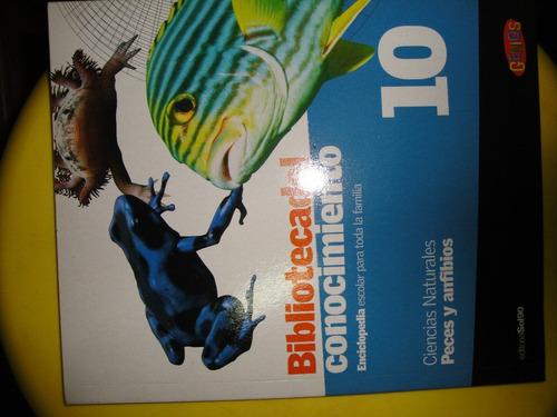 biblioteca del conocimiento 10 - peces y anfibios