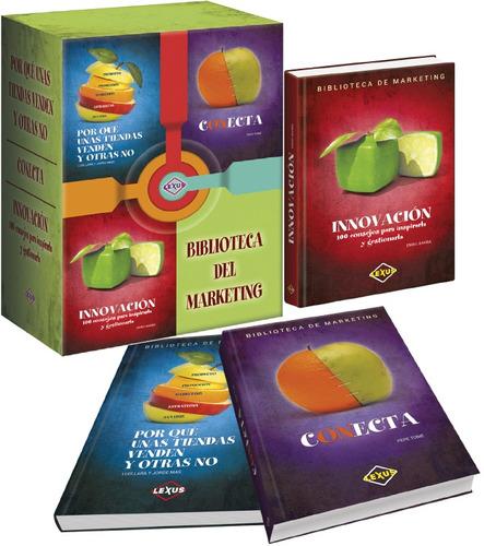 biblioteca del marketing 3 tomos