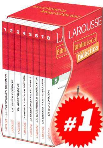biblioteca didáctica 8 vols