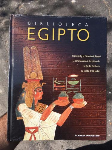 biblioteca egipto - lote 6 libros - nuevos