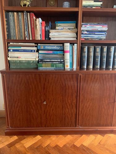biblioteca enchapada de cedro (desarmable)