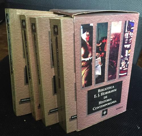 biblioteca eric hobsbawm de historia contemporánea (4 tomos)
