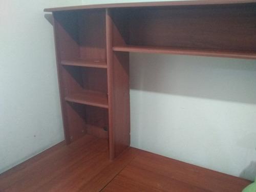 biblioteca, escritorio, archivo multifuncional de dos tramos