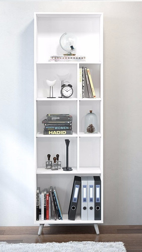 biblioteca , estanteria , diseño moderno con colores