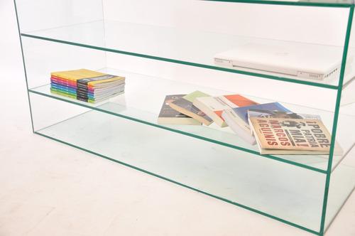 biblioteca / estantería / modular en vidrio!