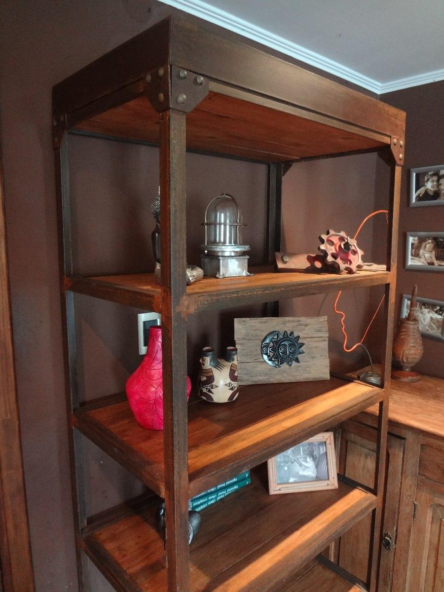 Muebles Estilo Industrial - Biblioteca Estilo Industrial Mueble Accesorio Hierro Madera [mjhdah]https://http2.mlstatic.com/muebles-estilo-industrial-D_NQ_NP_740121-MLM20681081329_042016-F.jpg
