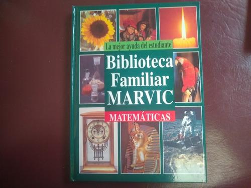 biblioteca familiar marvic tomo de matemáticas