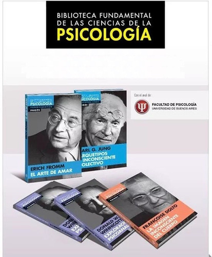 biblioteca fundamental de psicología - 12 libros