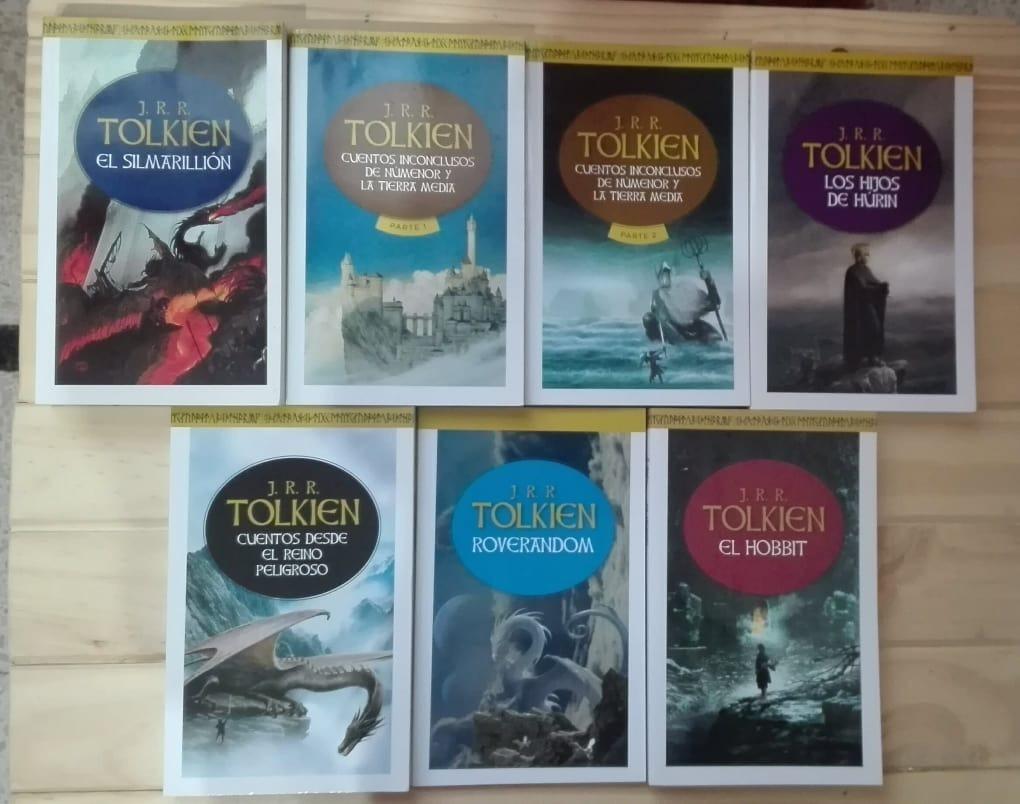 biblioteca j.r.r. tolkien completa - ¡10 libros! Cargando zoom.