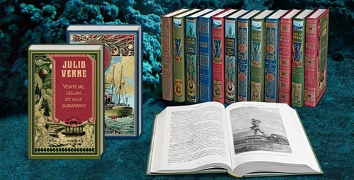 biblioteca julio verne (la nación) varios