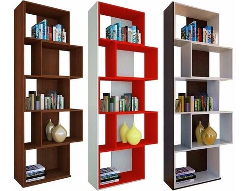 biblioteca juvenil 5 cubos estanteria diseño elegante mueble