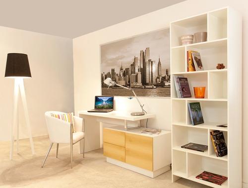 biblioteca laqueada muebles diseño forbidan muebles