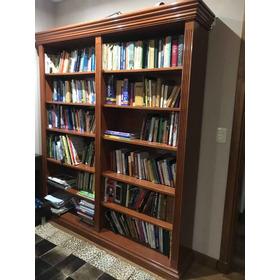 Biblioteca Madera Estilo Inglés