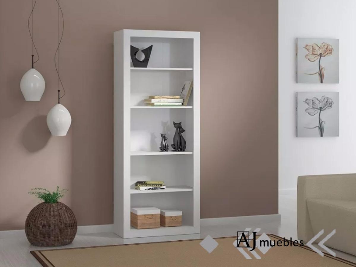 Mueble para libros amazing jobs bookcase mueble para - Biblioteca madera blanca ...