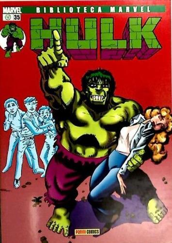 biblioteca marvel: hulk 035(libro universo marvel)