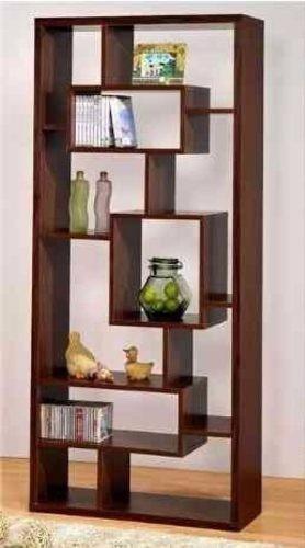 biblioteca minimalista modernos muebles estantes decorativo
