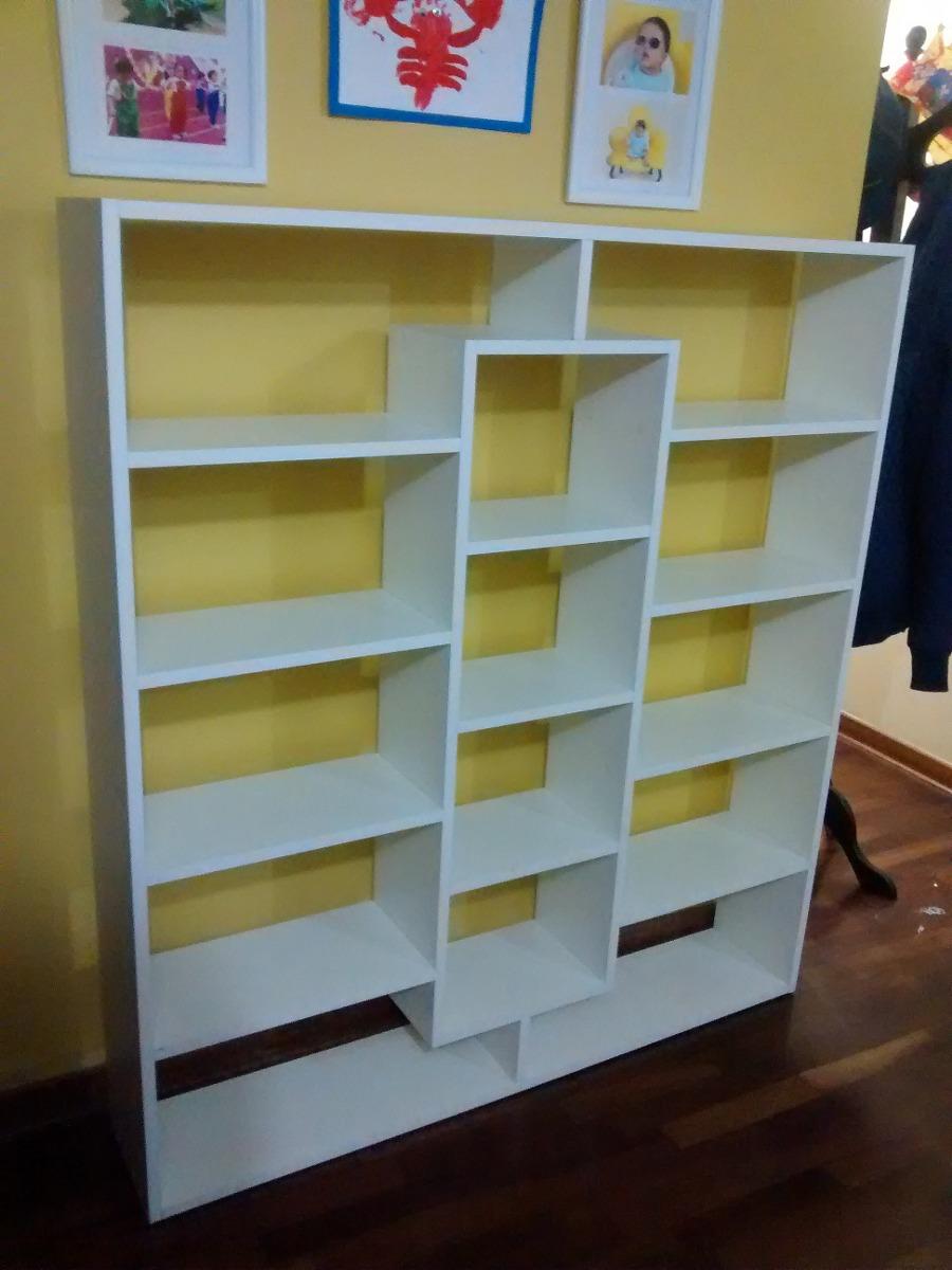 Biblioteca organizador melamina estante s 299 00 en for Modelos de zapateros en melamina