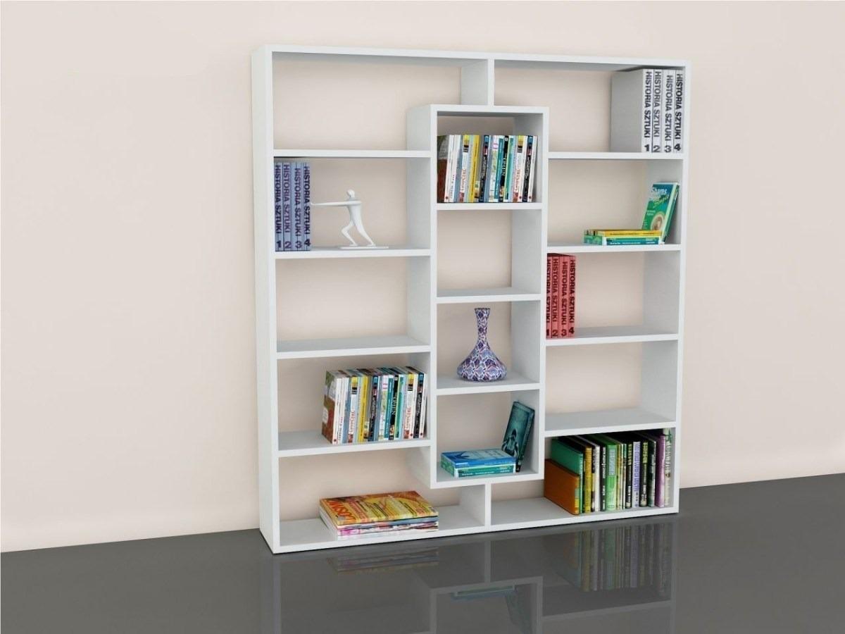 Biblioteca organizador melamina estante s 299 00 en for Software para fabricar muebles de melamina