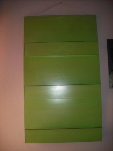 biblioteca / revistero / porta libros de madera