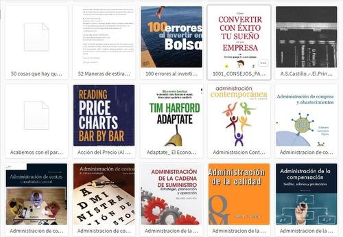 biblioteca todo sobre trading y finanzas mas de 700 libros