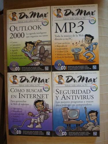 biblioteca total de la computación dr. max - 20 tomos, 20 cd