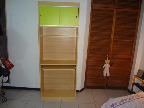 biblioteca y escritorio para niña 1,92x74x31 pregunte precio