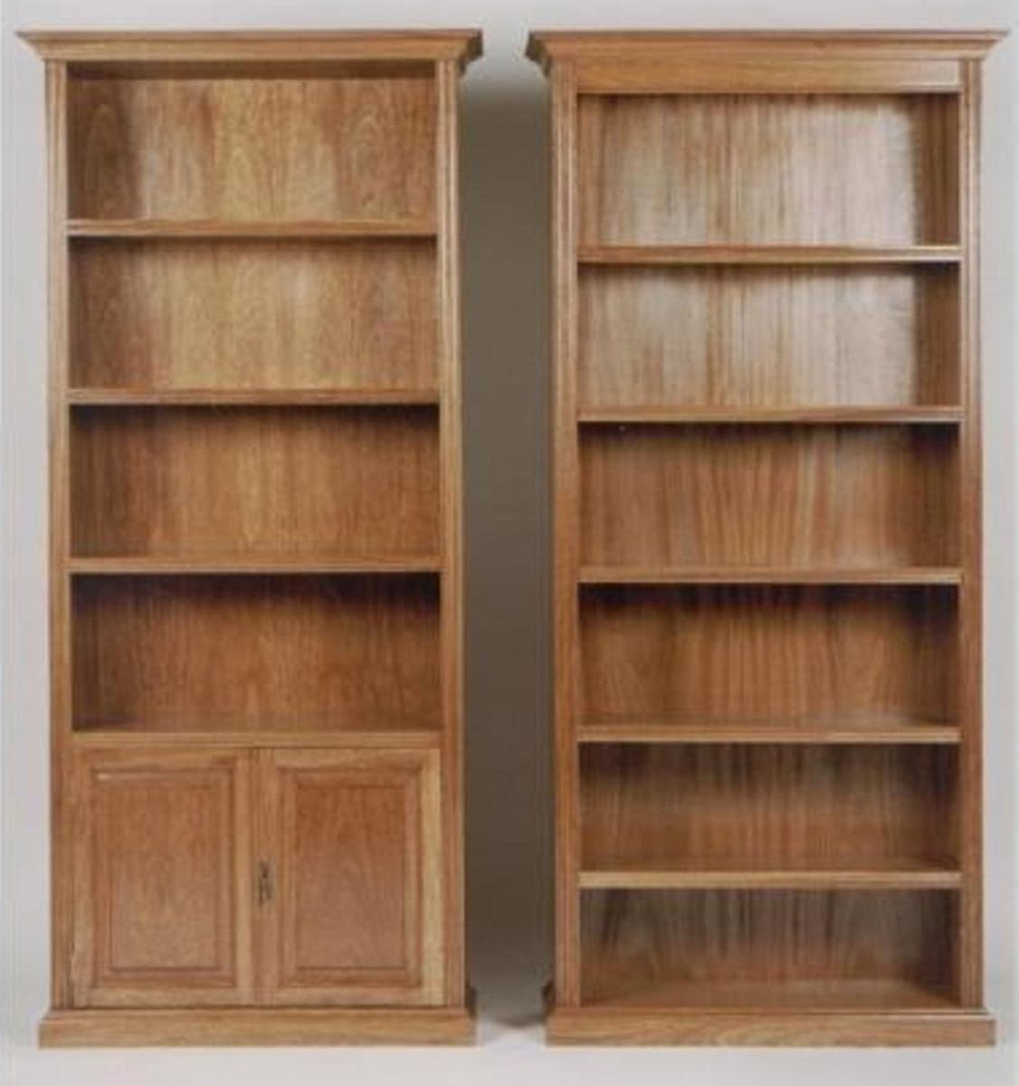 Bibliotecas En Roble.s/puertas. Mattina Muebles - $ 9.950,00 en ...
