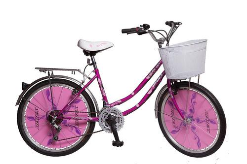 bic bimex city bike lady 18 vel rod 24 dama