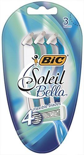 bic soleil bella 4 cuchillas desechables mujeres 3 unidades