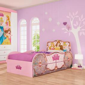 c2e6dfa17 Cama Infantil Castelo Princesa Multiuso - Todo para o seu Quarto no ...