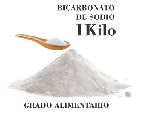 bicarbonato de sodio - 1 kg. - grado alimenticio