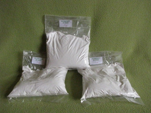 bicarbonato de sodio, 3 kgs,envio gratis