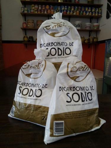 bicarbonato de sodio emeth 2 kg