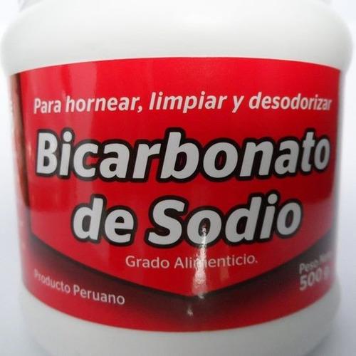 bicarbonato de sodio grado alimenticio