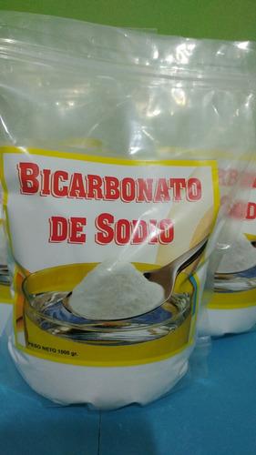 bicarbonato de sodio x 1kilo y 25kilos aleman