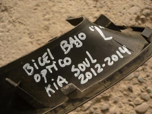 bicel bajo optico soul 2013 chofer c/daño - lea descripción