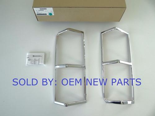 bicel calaveras y rejillas laterales de cuartos hummer h3