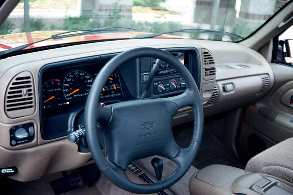Bicel Frontal De Tablero Camionetas Chevrolet 95 98
