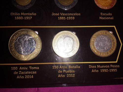 bicentenario albun completo de monedas y billetes