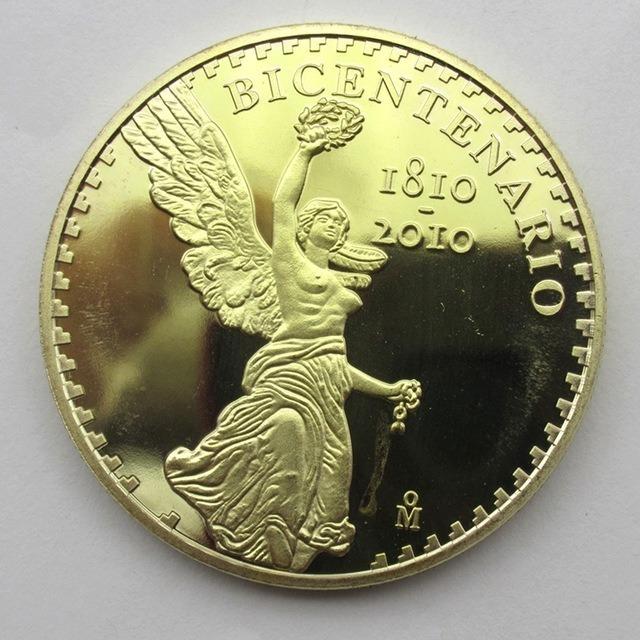Bicentenario centenario 1921 onza ba o de oro r plica - Bano de oro precio ...