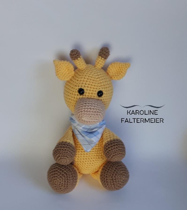 Girafa Amigurumi Croche   Pelúcia Sonhos De Crochê Nunca Usado ...   893x797