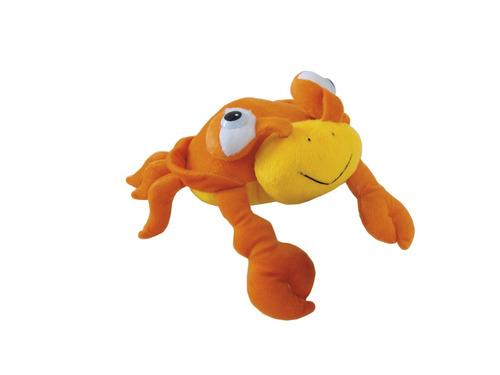 bicho pelúcia caranguejo 24cm plush inmetro fundo do mar